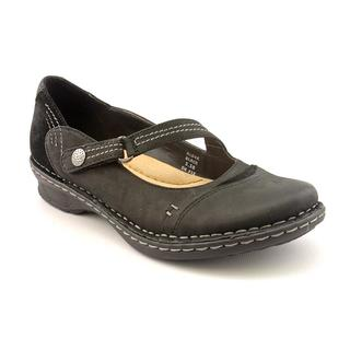 Earth Women's 'Alder' Black Leather Casual Shoes