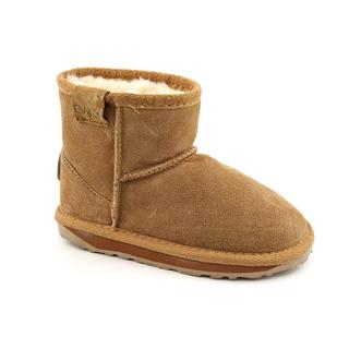 Emu Australia Girl's 'Wallaby Mini' Regular Suede Boots