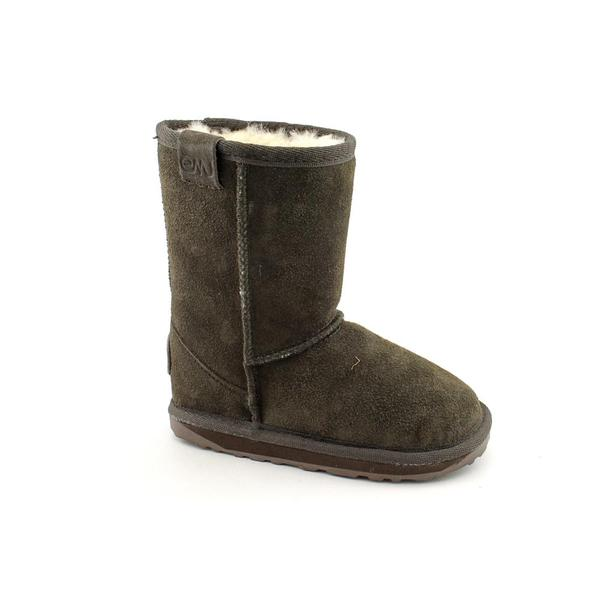 Emu Australia Girl's 'Wallaby Lo' Regular Suede Boots
