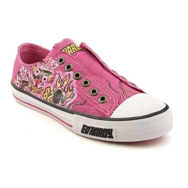Ed Hardy Women's 'Lowrise' Canvas Casual Shoes