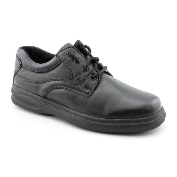 Hush Puppies Men's 'Glen' Leather Casual Shoes Wide