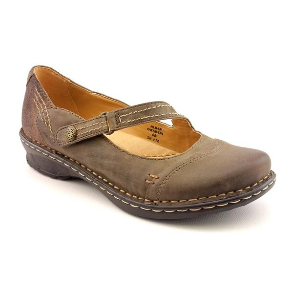 Earth Women's 'Alder' Brown Leather Casual Shoes