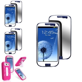 BasAcc Case/Anti-Scratch Mirror Screen Protector for Samsung� Galaxy S3