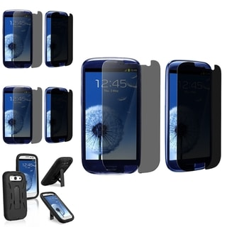 BasAcc Case/ Privacy Filter Screen Protector for Samsung� Galaxy S3