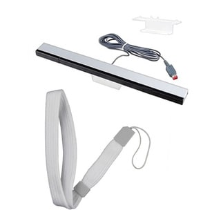 BasAcc Wired Sensor Bar/ Controller Hand Wrist Strap for Nintendo Wii