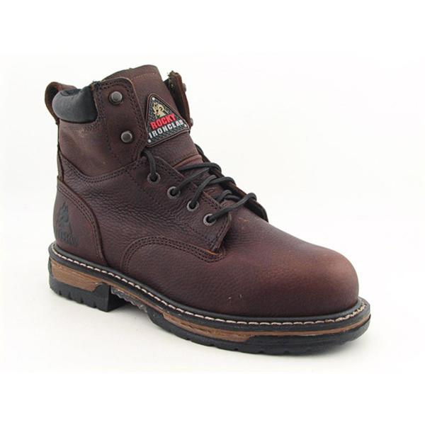 "Rocky Men's '6"" Ironclad' Leather Boots Wide"
