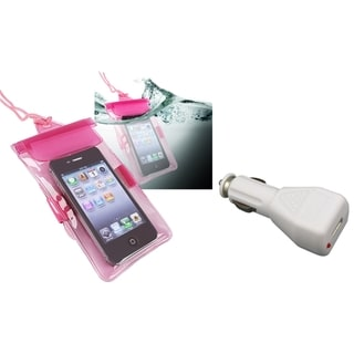 INSTEN Bag/ Car Charger for HTC EVO 4G/ Droid Incredible 2/ S/ Vivid