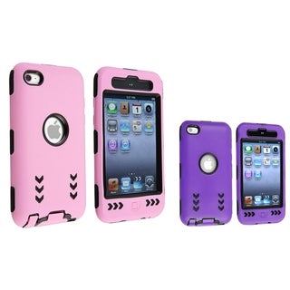 BasAcc Hybrid Case Set for Apple iPod Touch 4th Generation