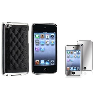 BasAcc Case/ Mirror LCD Protector for Apple iPod Touch Generation 4