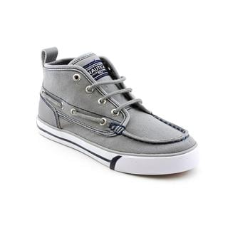 Nautica Boy's 'Del Mar' Canvas Boots