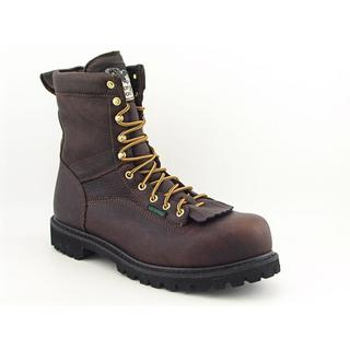 Georgia Men's 'Logger' Leather Boots