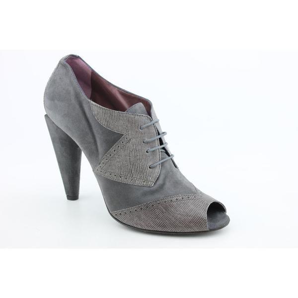 Studio Pollini Women's 'Lizard Lace' Regular Suede Dress Shoes