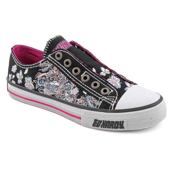 ed hardy s lowrise canvas casual shoes 14855865