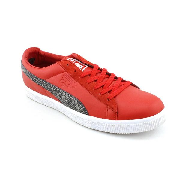 Puma Men's 'Clyde X Undftd Faux Snakeskin' Leather Casual Shoes