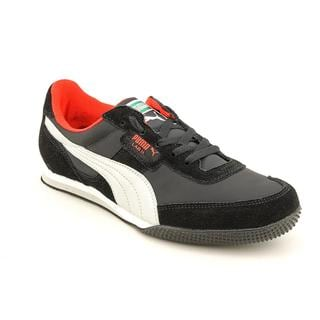 Puma Men's 'Lab 2 FB Nylon' Regular Suede Casual Shoes