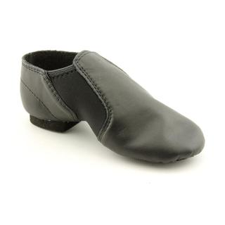 Dance Class By Trimfoot Company Girl's 'Jazz Boot' Leather Athletic Shoe
