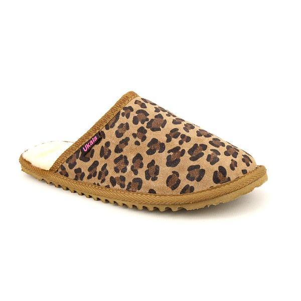 Ukala Women's 'Marley Slide' Regular Suede Casual Shoes