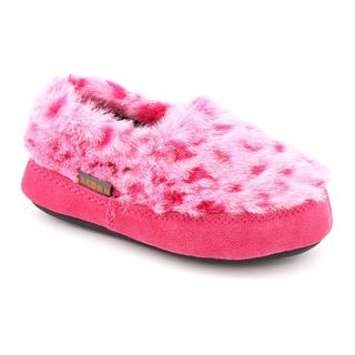 Acorn Girl's 'Tex Moc' Faux Fur Casual Shoes