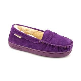 Bearpaw Women's 'Brigetta' Purple Suede Casual Shoes
