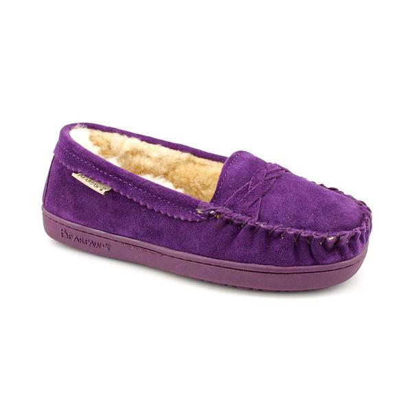 Bearpaw Women's 'Brigetta' Purple Suede Casual Shoes