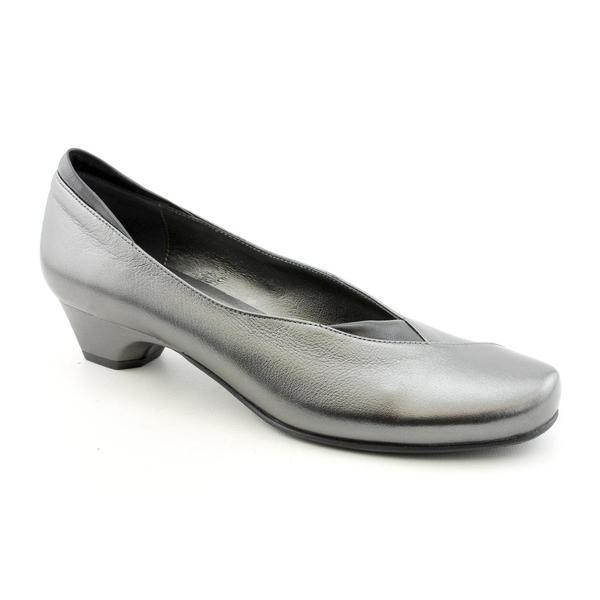 Renzo Fontanelli Women's 'Jeanne' Leather Dress Shoes Narrow