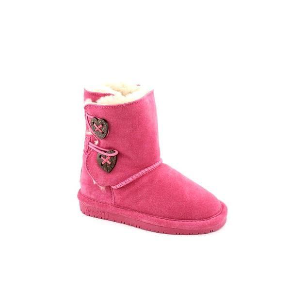 Bearpaw Girl's 'Trish' Regular Suede Boots