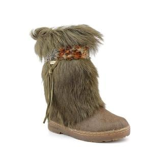 Bearpaw Women's 'Kola' Green Hair Calf Boots