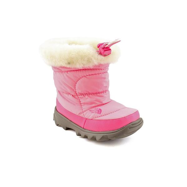 North Face Girl's 'Nuptse Bootie II Faux Fur' Synthetic Boots