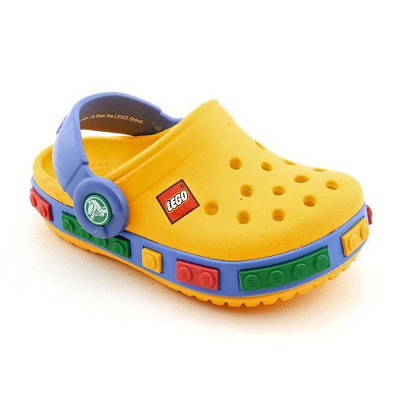 Crocs Boy's 'Crocband Kids Lego Clog' Synthetic Casual Shoes