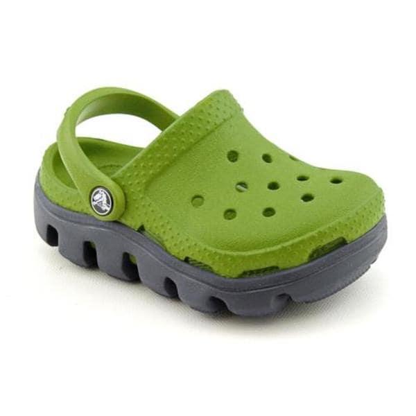 Crocs Boy's 'Duet Sport Clog Kids' Synthetic Casual Shoes