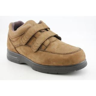 Drew Men's 'Velcro Traveler' Nubuck Casual Shoes Wide