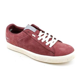Puma Men's 'Clyde X Undftd Luxe 2' Nubuck Casual Shoes