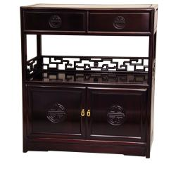 Rosewood Long Life Display Cabinet (China)