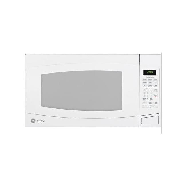 GE Profile PEB2060DMWW White 2-cu-ft Countertop Microwave Oven