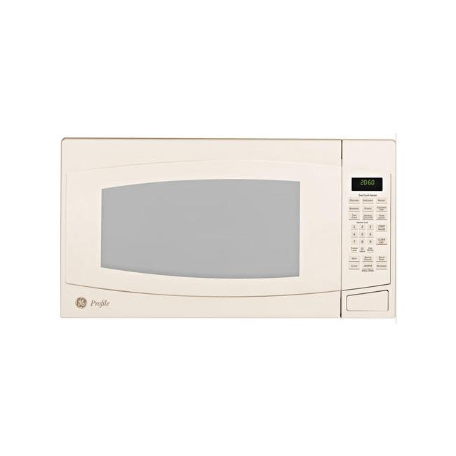 Countertop Microwave In Bisque Color : GE Profile PEB2060DMCC Bisque 2-cu-ft Countertop Microwave Oven ...