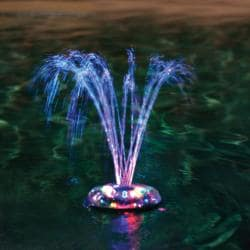 GAME Dancing Water Light and Fountain Show with Remote Control