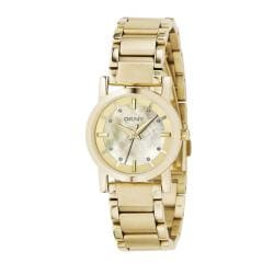 DKNY Women's Goldtone Stainless Steel Japanese Quartz Watch