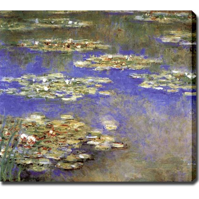 Claude Monet Water Lilies Giclee Canvas Art