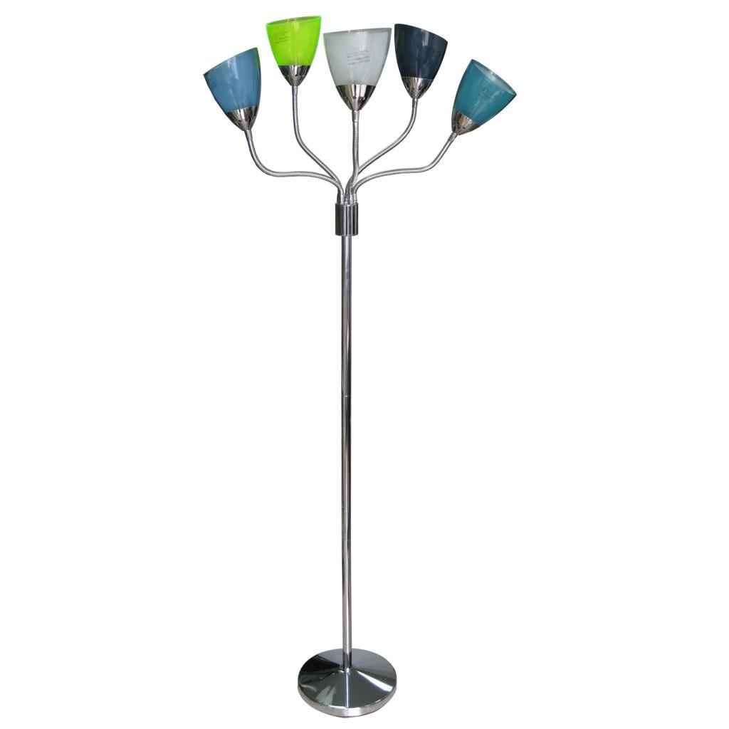 5-light Colorful Floor Lamp
