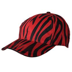 Journee Collection Women's Zebra Print Baseball Cap