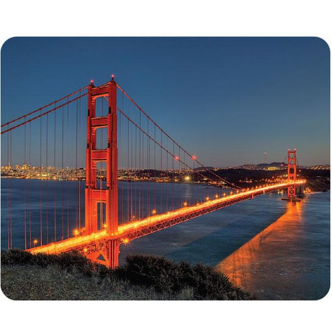 AD Publishing 'Golden Gate Bridge' Peel and Stick Mouse Pad