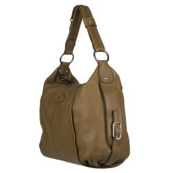 Tod's Brown Leather Hobo Bag