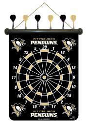 Pittsburgh Penguins Magnetic Dart Board