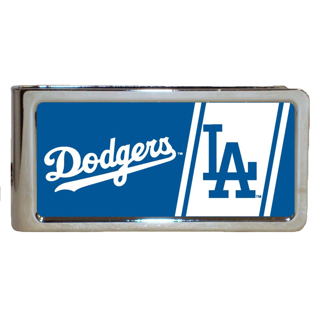 Simran Los Angeles Dodgers Stainless Steel Money Clip