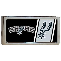 Simran San Antonio Spurs Stainless Steel Money Clip