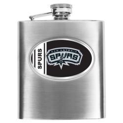Simran San Antonio Spurs 8-oz Stainless Steel Hip Flask