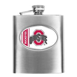 Simran Ohio State Buckeyes 8-oz Stainless Steel Hip Flask