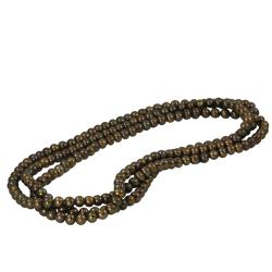 Chocolate Freshwater Pearl Endless 64-inch Necklace (8-9 mm)
