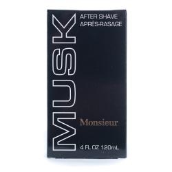 Monsieur Musk After Shave (Pack of 4)