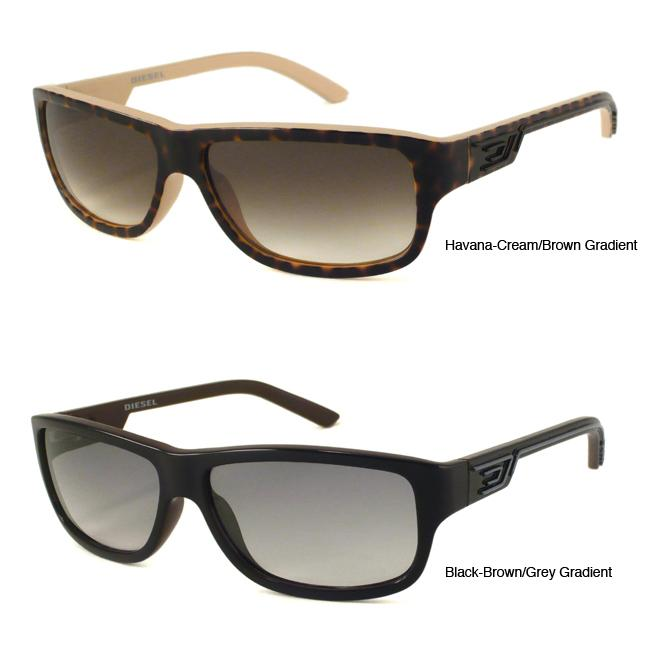 rectangular sunglasses men. The Diesel Sunglasses logo is